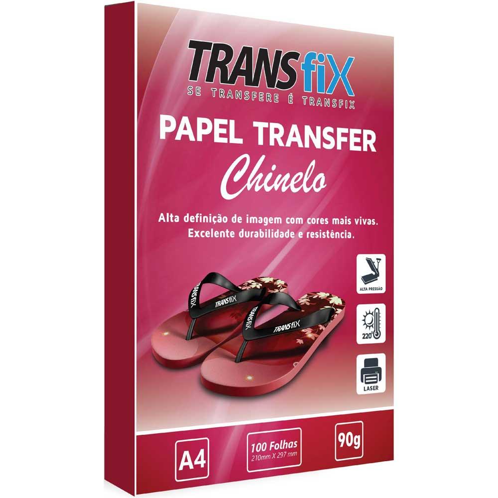 Kit Transfer Laser para Estampar Chinelos Transfix