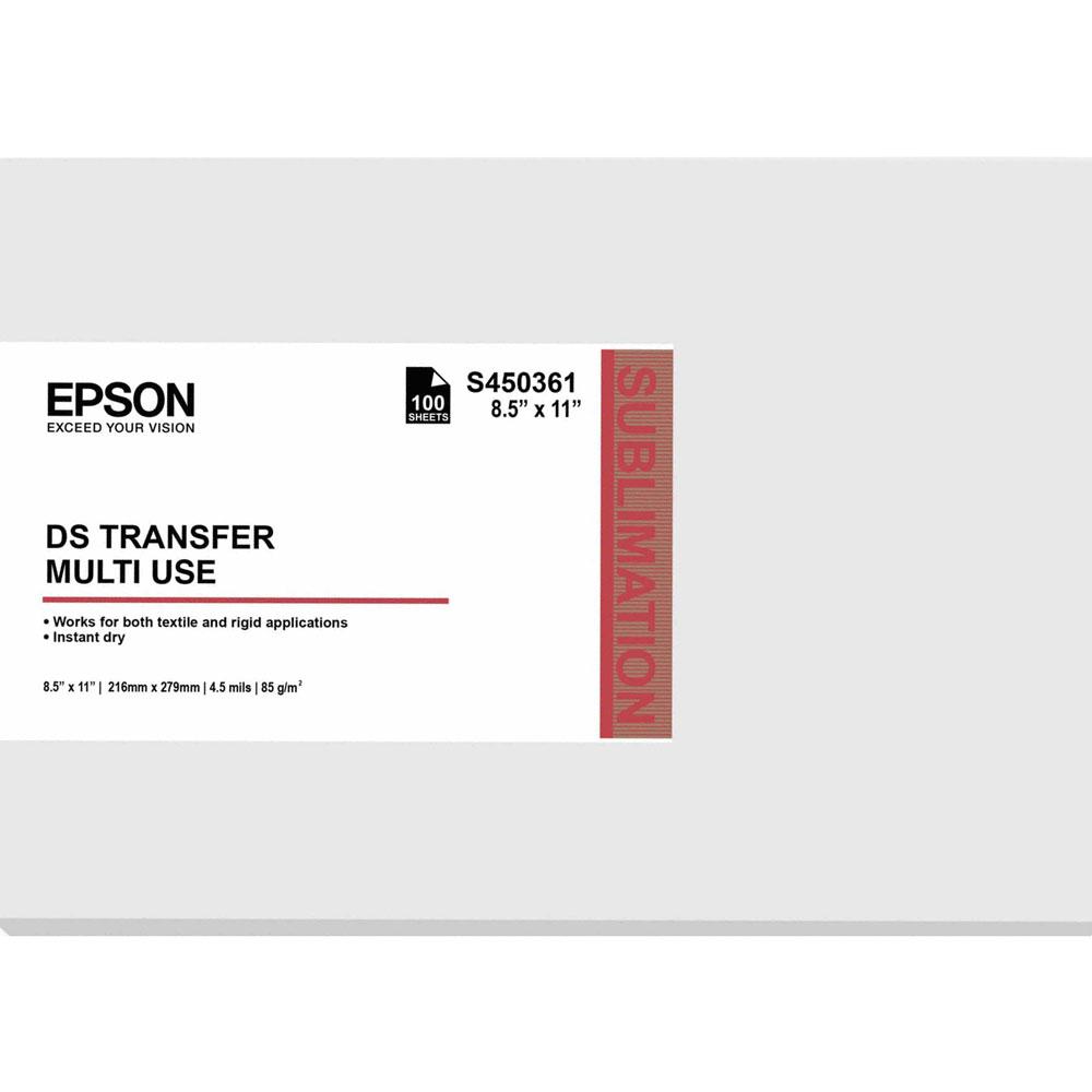Papel Sublimação Epson DS Transfer S450361 F170 F570