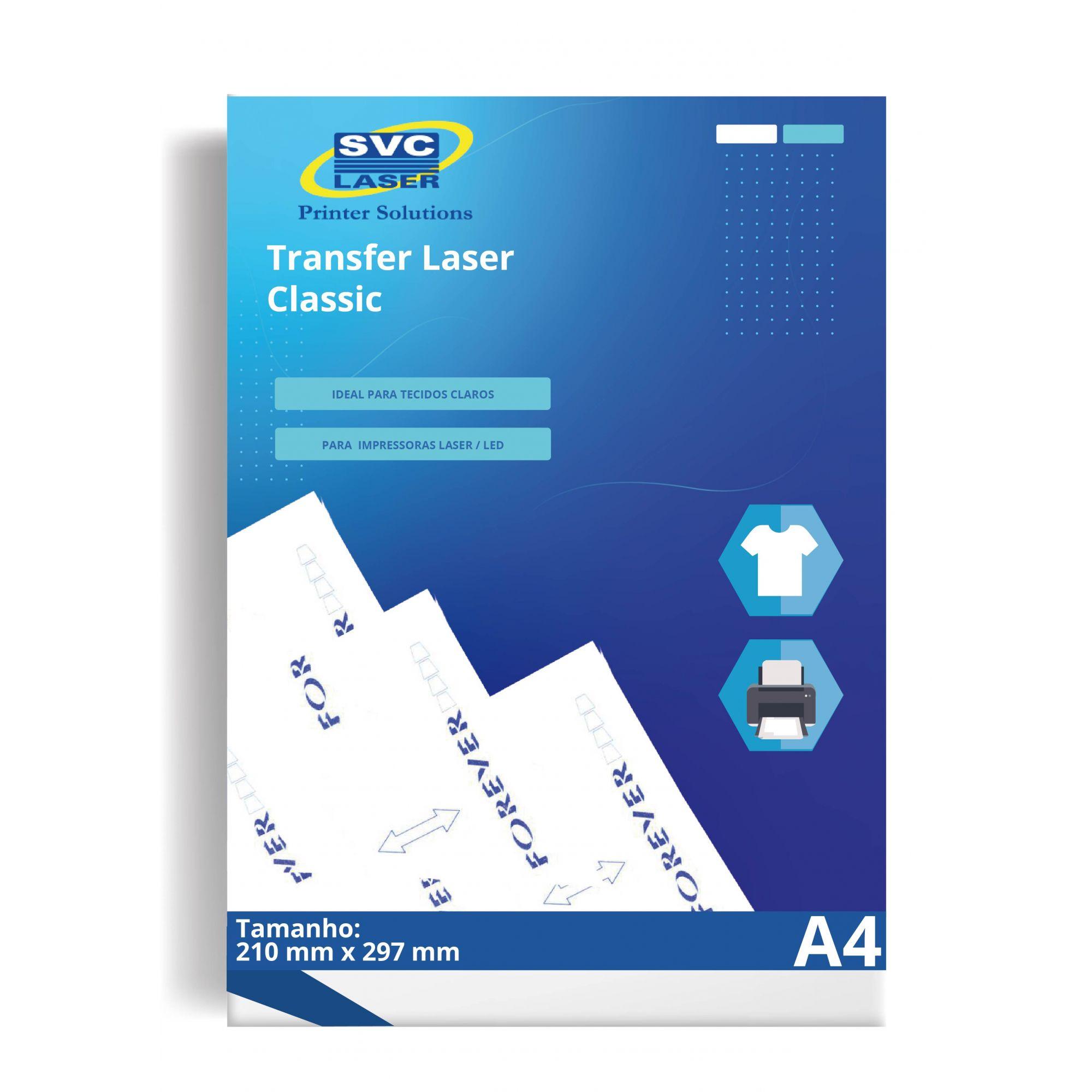 Transfer Forever Classic+ Universal Para Tecidos Brancos