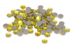 Pedra Rhinestone Amarela 4 mm - Silhouette