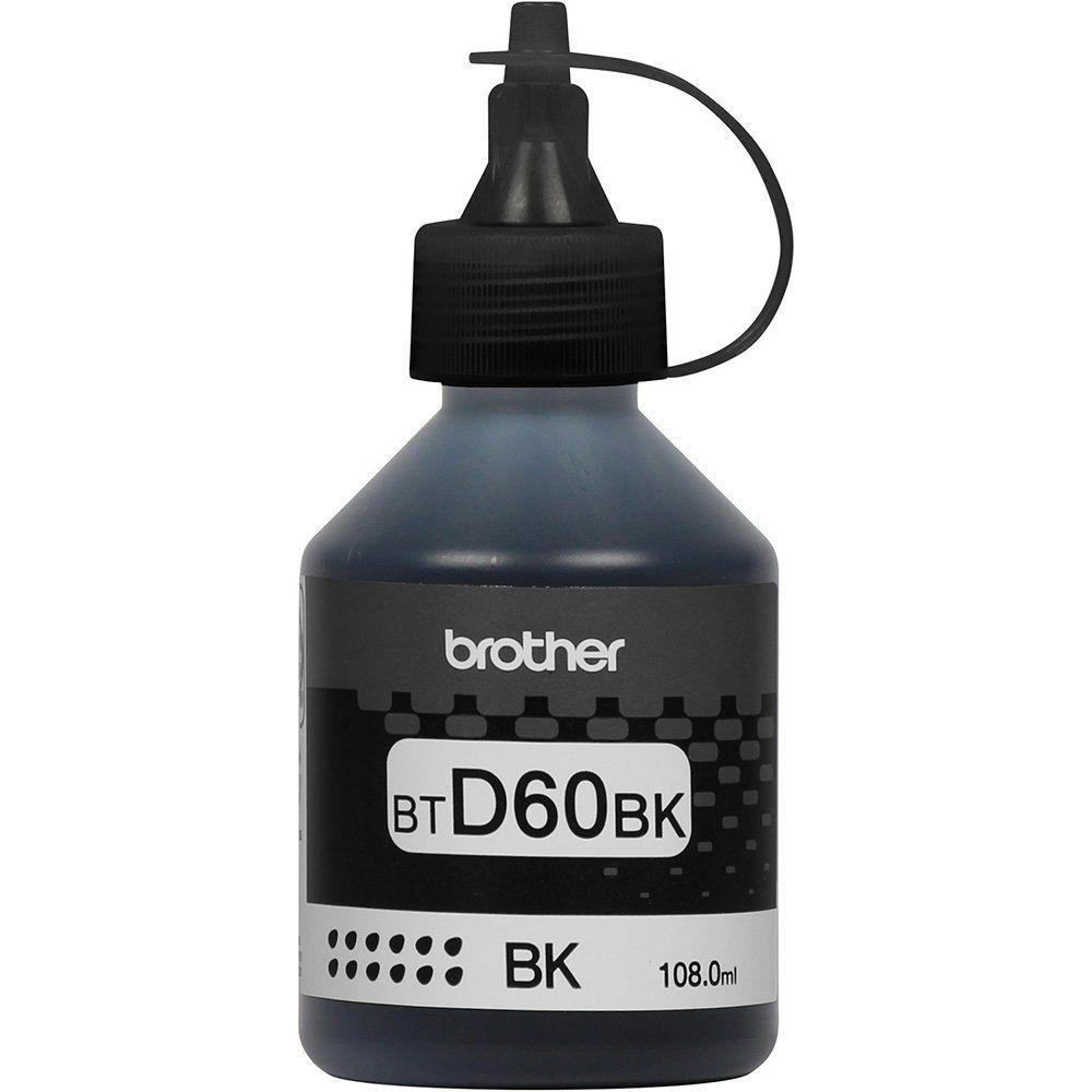 Refil de tinta Brother BT-D60BK Preto InkTank