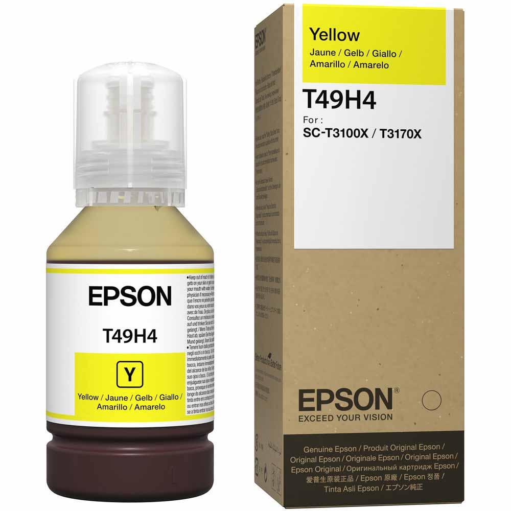 Refil de Tinta Epson T49H Amarelo Para T3170x