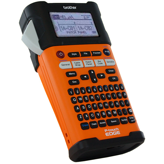Rotulador Eletrônico Brother PT-E300 Com Bateria e Maleta