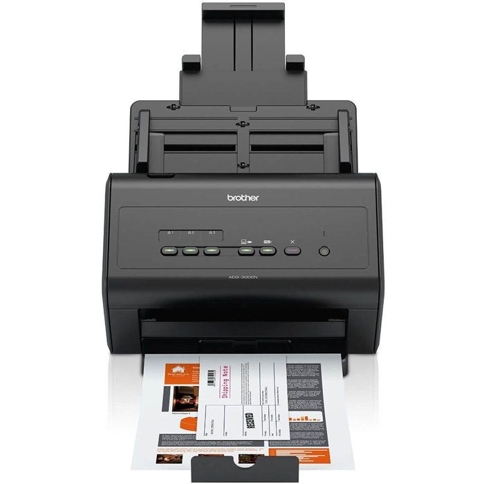 Scanner Alta Velocidade Brother ADS-3000N