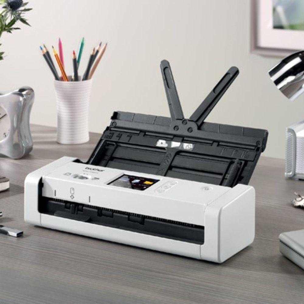 Scanner Portátil Brother ADS-1700W Wi-Fi 25ppm Frente/Verso
