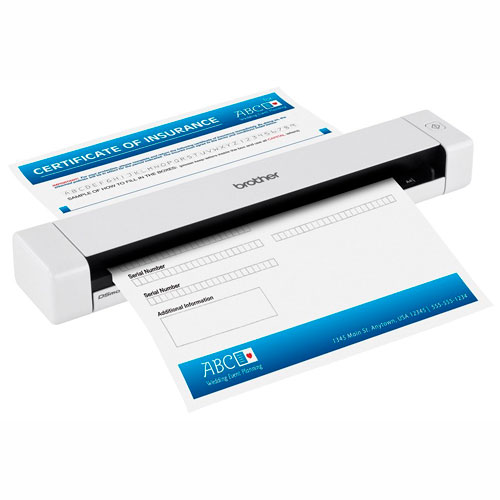 Scanner Colorido Portátil DS-620 Brother