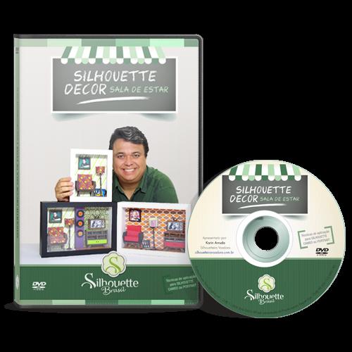 Silhouette Decor Sala de Estar - Curso Oficial em DVD