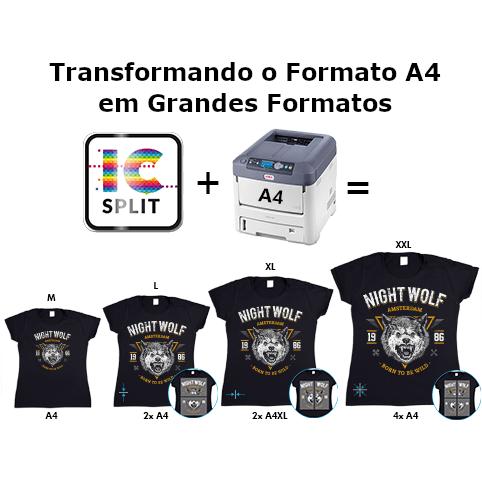 Software Forever ICSplit Para impressão de Grandes Formatos