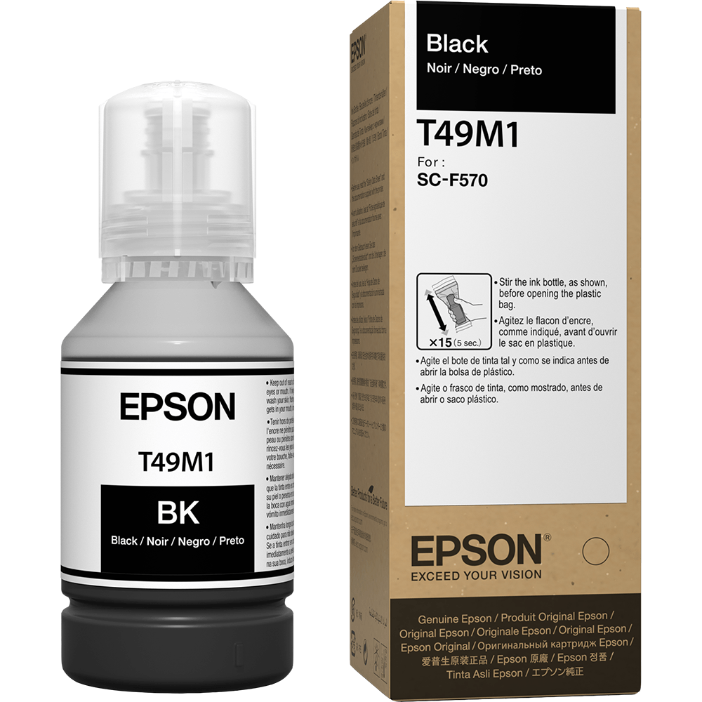 Tinta Sublimática Epson T49M Preto Para F570