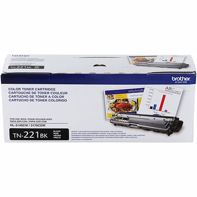 Cartucho Toner TN-221BK Preto Brother HL3140 MFC9330