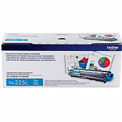 TN-225C Cartucho Toner Ciano Original Brother HL3140 DCP9020