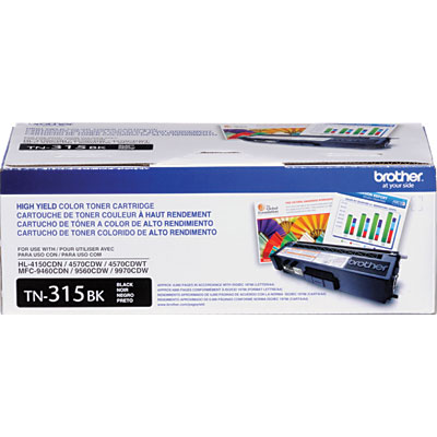 Cartucho de Toner Preto TN-315BK Brother HL4150 MFC9460