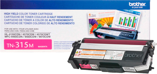 TN-315M Cartucho de Toner Magenta Brother HL4150 MFC9460