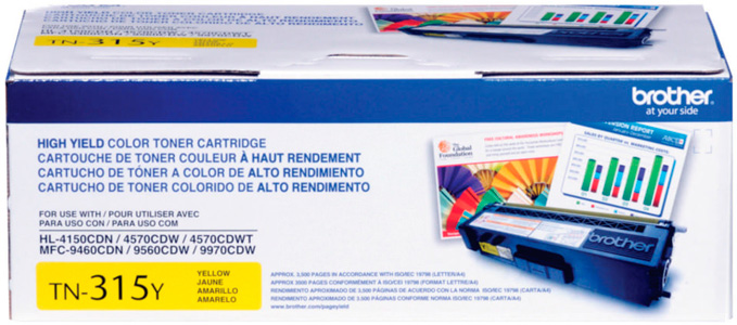 Cartucho de Toner Amarelo TN-315Y Brother HL4150 MFC9460