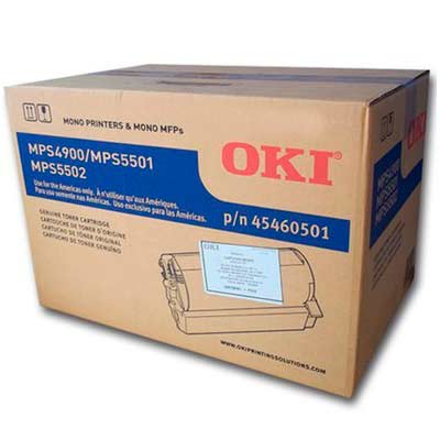 Toner Preto Okidata MPS 5501B/5502MB -  45460512BR
