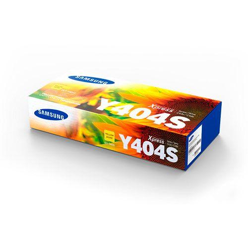 Toner Samsung CLT-Y404S Amarelo 1000 páginas