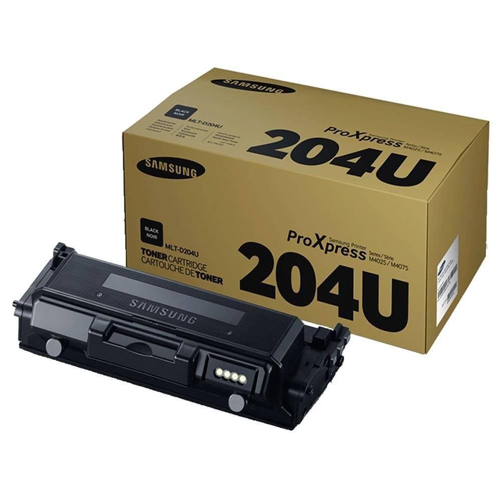 Toner Samsung MLT-D204U Preto SL-M4075 SL-M4025