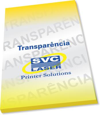 Transparência Formato A4 (210x297mm)