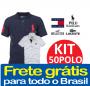 KIT COM 50 POLOS VARIADAS FRETE GRÁTIS PARA TODO BRASIL