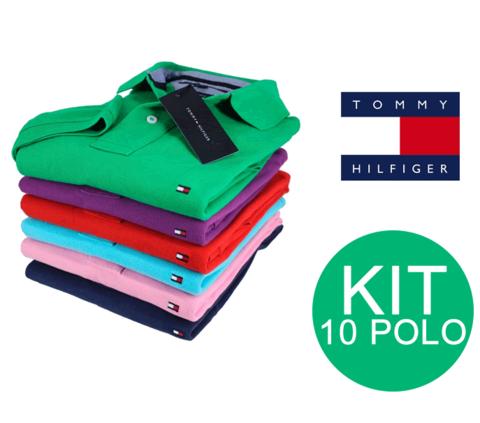 KIT 10 POLOS TOMMY
