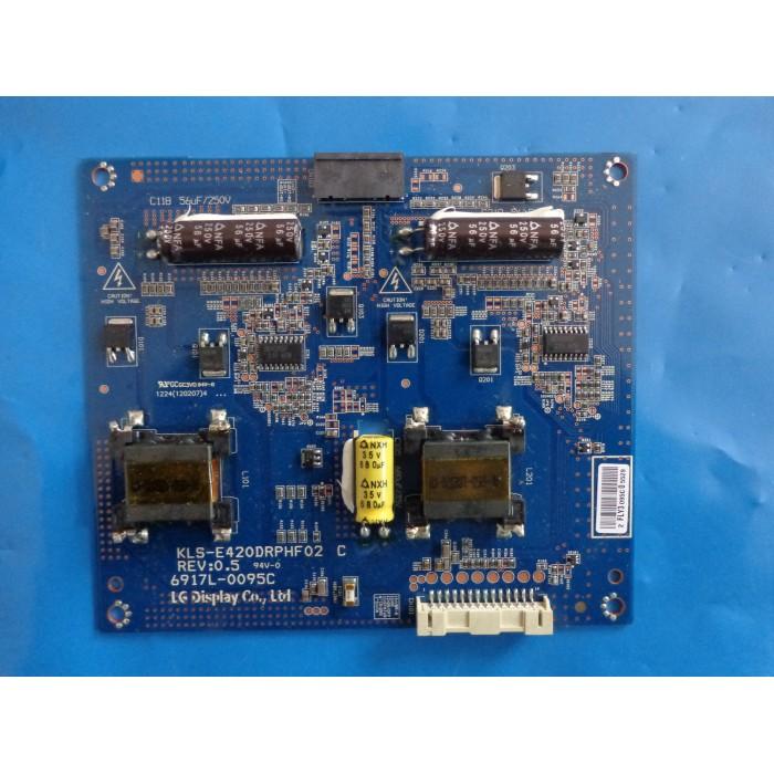 INVERTER LG 6917L-0095C /   KLS-E420DRPHF02 C MODELO LG42L53400  - Jordão R.Camacho