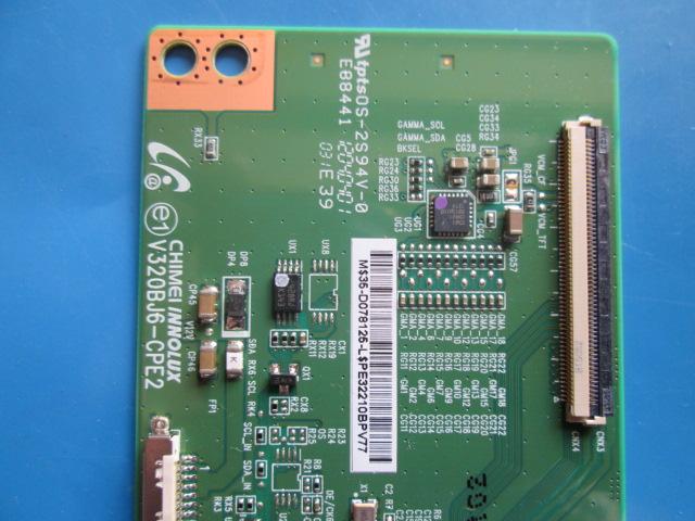 T-CON LG V320BJ6-CPE2 MODELO 32LS3450  - Jordão R.Camacho