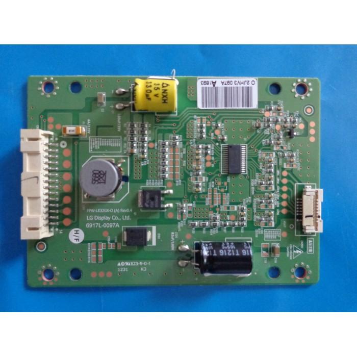 PLACA INVERTER TV LG MODELO 32LT560H / PPW-LE32GX-O (A) CÓDIGO 6917L-0097A   - Jordão R.Camacho