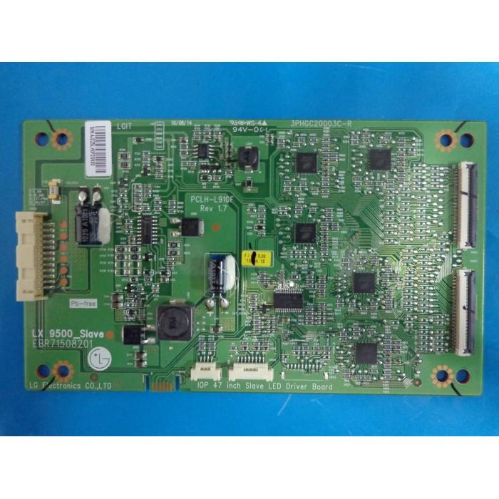 PLACA INVERTER TV LG MODELO 47LX9500 CÓDIGO 3PHGC20003C-R
