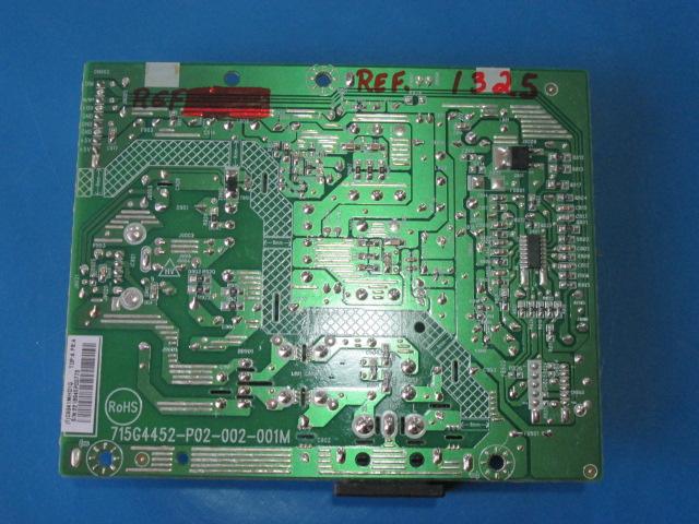 PLACA FONTE MONITOR AOC PHILIPS 715G4452-P02-002-001M MODELO E168066 226V4L 196V4L