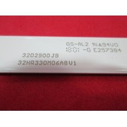 BARRA DE LED TOSHIBA 4C-LB3206-HR09J 32HR330M06A8V1 L32S4900S 32l1800 32l2600 32l2800 32l2900