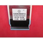CABO FLAT LG MODELO 49UJ6300 55UJ6300 CÓDIGO EAD63969914 TIRADO
