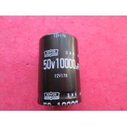 CAPACITOR ELETROLÍTICO 10.000uF X 50V 85º C DIAM. 29 MM X COMPR. 45 MM