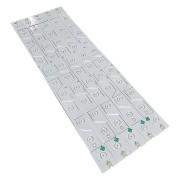 KIT 10 BARRAS LED TOSHIBA - Modelo 55E5800   Código 55HR330M06A1 / V1 4C-LB5506-HR1