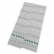 KIT 12 BARRAS DE LED AOC - Modelo LE39D0330 | Código 39.0 SNB-C1-L YMGB01F4B727-F46 + 39.0 SNB-C1-R YMGB01F4B727-F46 + 39.0 SNB-V4