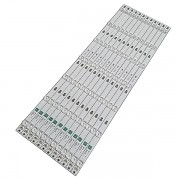 KIT 12 BARRAS DE LED SEMP TOSHIBA TCL MODELO 65D2900 CÓDIGO 65HR330M07A4 V2