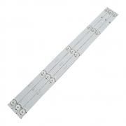 KIT 3 BARRAS LED PHILCO PH28D27D 1.14.FD275002 / SJ.BK.D2750501-2835AS-F