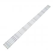 KIT 4 BARRAS LED PHILIPS 50PUG6513 50PUF6192 02D500409000-X1 210BZ09D0B333BL01C