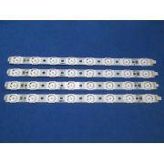 KIT 4 BARRAS DE LED PHILIPS - 40PFL6615D A668WJ-9X 01