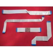 KIT 4 PÇS CABO FLAT TV PHILCO MODELO PH51C20PSG 3D PLASMA TIRADO