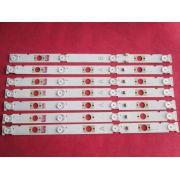 KIT 7 BARRAS DE LED SONY MODELO KDL-48W655D CÓDIGO LB48009 V0_03 (A) / LB48009 V1_04 (B)