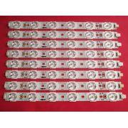 KIT 8 BARRAS DE LED PHILIPS 46PFL5615 A666WJ-9X 01