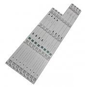 KIT 8 BARRAS LED TCL - Modelo L49S4900 / L49S4900FS | Código DS-4C-LB4904-YM02J 2D02899 / DS-4C-LB4905-YM01J 2D02900 REV. BL49S4900 / L49S4900FS