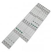 KIT 8 BARRAS DE LED TCL - Modelo L49S4900FS | Código DS-4C-LB4904-YM06J / DS-4C-LB4905-YM06J