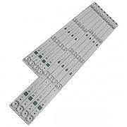 KIT 8 BARRAS TCL - Modelo 55 POL.   Código 4 JL.D55041330-004ES-M 4 LEDS / 4 JL.D55051330-004ES-M 5 LEDS