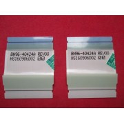 PAR DE CABOS FLAT SAMSUNG MODELO UN49K6500 CÓDIGO BN96-40424A DA T-CON BN98-06788A