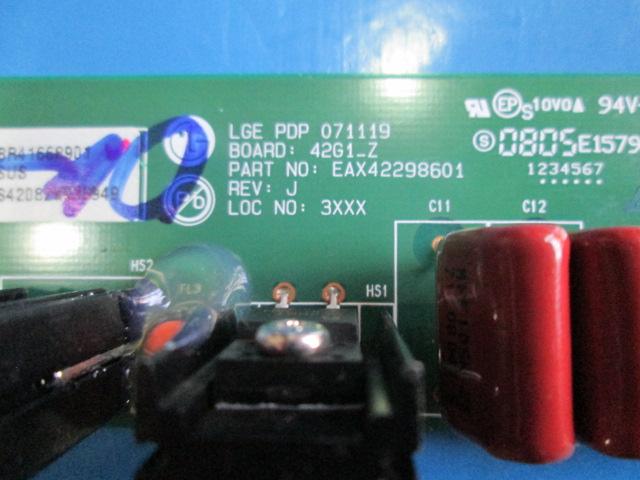 PLACA ZSUS TV LG 42PG20R EAX42298601 EBR41668901  - Jordão R.Camacho