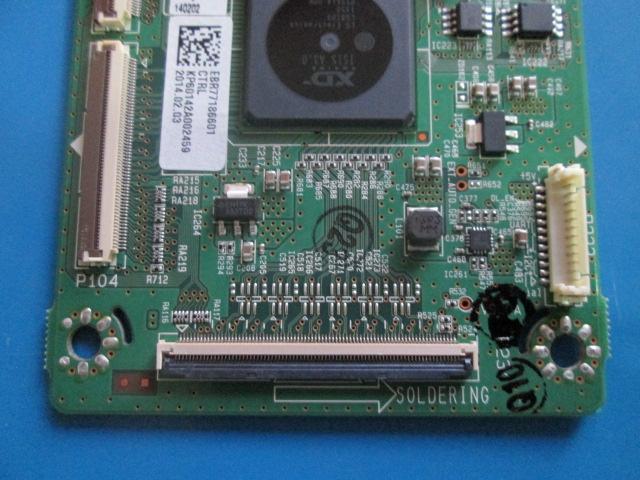 PLACA T-CON LG MODELO 60PB6500 EAX65331701(2.0) / EBR77186601