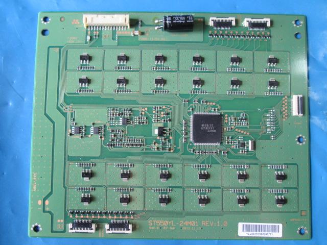 PLACA INVERTER TV SONY MODELO XBR-55X900A / XBR-55X905A CÓDIGO ST550YL-24M01 REV:1.0