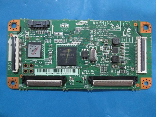 PLACA T-CON SAMSUNG LJ92-01849A R1.3 MODELO PN43E450A1FXZA