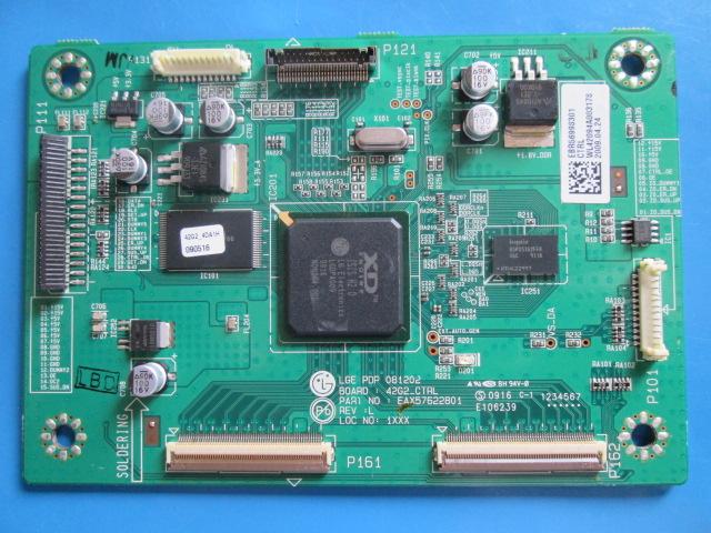 PLACA T-CON LG MODELO 42PQ30R EAX57622801 / EBR56998301